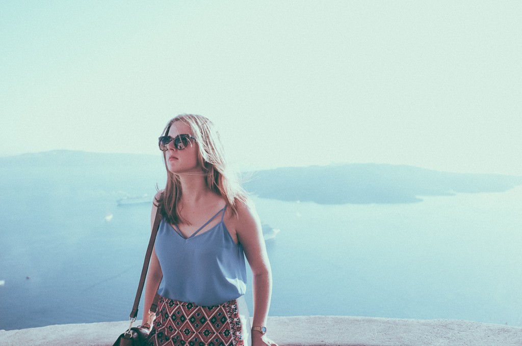 Santorini Travel Blogger